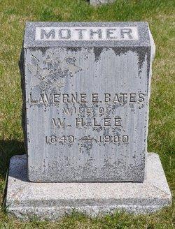 LaVerne Emeretta <I>Bates</I> Lee