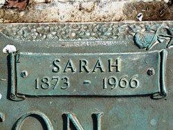 Sarah A <I>Hairdesta-Ledbetter-Creason</I> Ralston