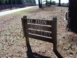 Mount Zion Lane Cemetery