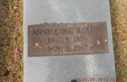 """Sarah Ann """"Annie"""" <I>Cone</I> Barton"""