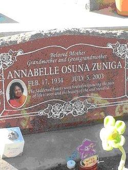 Annabelle <I>Osuna</I> Zuniga