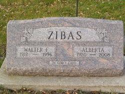 Walter F Zibas
