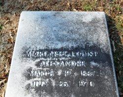Margaret Louise Alexander