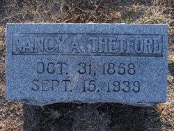 Nancy Ann <I>Patrick</I> Thedford
