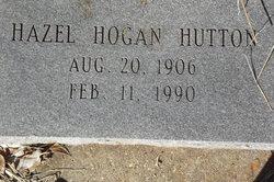 Hazel <I>Hogan</I> Hutton