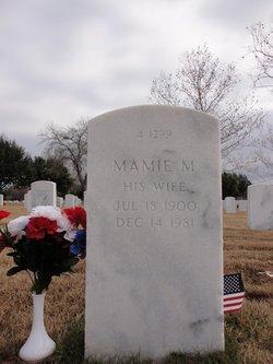 Mamie M Arrowood