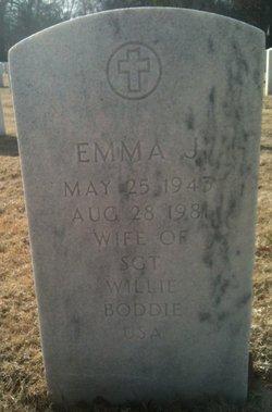 Emma J Boddie