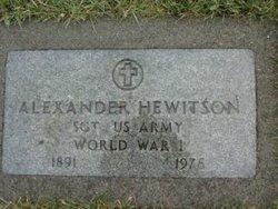 Alexander Hewitson