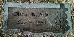 Marie <I>Kitch</I> Alden