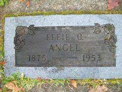 Effie O. <I>Snelson</I> Angel