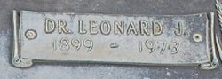 Dr Leonard Jerry Hicks