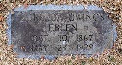 Zorelda Emerine <I>Owings</I> Eblen