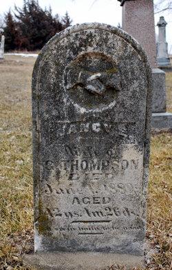 Nancy Ellen <I>Hainline</I> Thompson