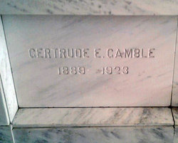 Gertrude Gamble