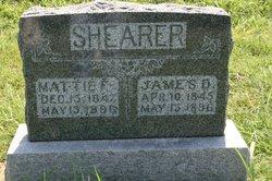 Rev James Daniel Shearer