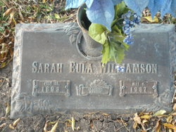 Sarah Eula Williamson