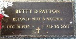 Betty D. Patton