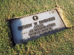 Pvt Ernest Weldon Edwards