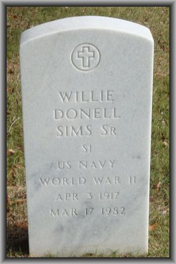 Willie Donell Sims, Sr
