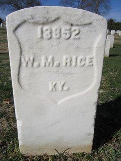 William M. Rice