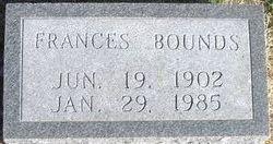 Frances <I>Van Sickle</I> Bounds