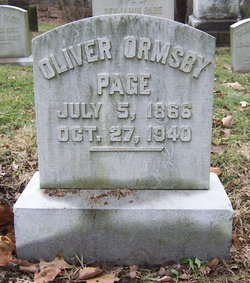 Oliver Ormsby Page