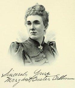 """Margaret Emma """"Maggie"""" <I>Custer</I> Calhoun Maugham"""