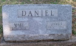 Mary M <I>Hann</I> Daniels