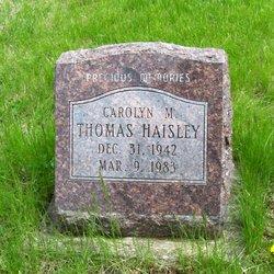 Carolyn M. <I>Thomas</I> Haisley