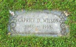 Caprice Dawn <I>Covington</I> Wilson