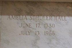 Amelia <I>Greenberg</I> Hall