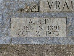 Alice <I>Boulton</I> Vrahnos