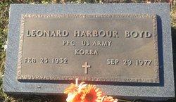 Leonard Harbour Boyd
