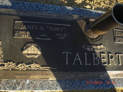 "James Anthony ""Tony"" Talbert, Sr"