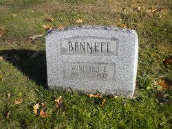 Winifred E Bennett