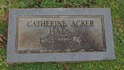 Catherine Ann <I>Jones</I> Hall