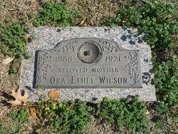 Ora Ethel Wilson