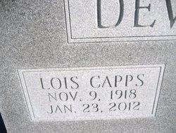 Lois <I>Capps</I> Deviney