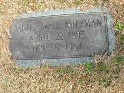 Fannie Louisa <I>Wall</I> Huffman