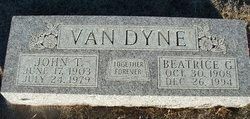 Beatrice G. <I>Miller</I> Van Dyne