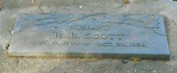 """Reuben Benjamin """"R.B."""" Scott"""