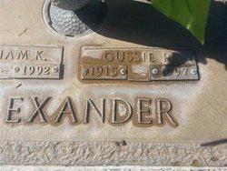 Cussie P. Alexander