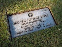 LT Walter George Epply