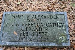 James F Alexander