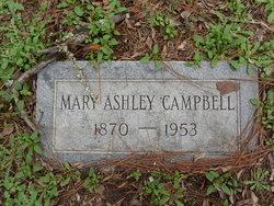 Mary Ashley <I>Saunders</I> Campbell