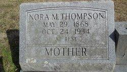 """Lenora Minne """"Nora"""" <I>Davis</I> Thompson"""