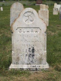 Clara <I>Warren</I> Brewster