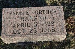 Fannie Mabel <I>Fortner</I> Barker