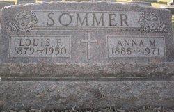 Anna M <I>Senger</I> Sommer