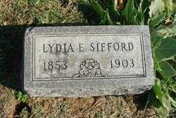 Lydia E. <I>Burton</I> Sifford